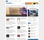Журнальная тема WordPress от ThemeJunkie: ChannelPro