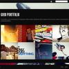 Стильный шаблон WordPress для портфолио от Themeforest: Sideways