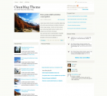 Премиум тема WordPress от ThemeWars: CleanMag