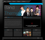 Премиум тема WordPress от BandThemer: Stripes