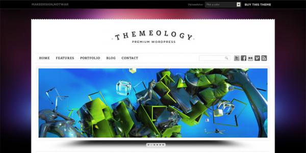 Премиум тема WordPress от Themeforest: Themeology