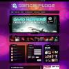 Музыкальный Шаблон WordPress от GorillaThemes: Dance Floor