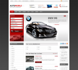 Автомобильный шаблон WordPress от Templatic: Automobile