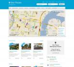 Премиум WordPress тема от Templatic: Geo Places