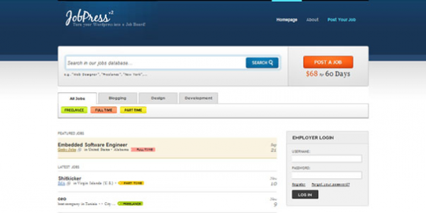 Premium тема WordPress от DailyWP: JobPress v2