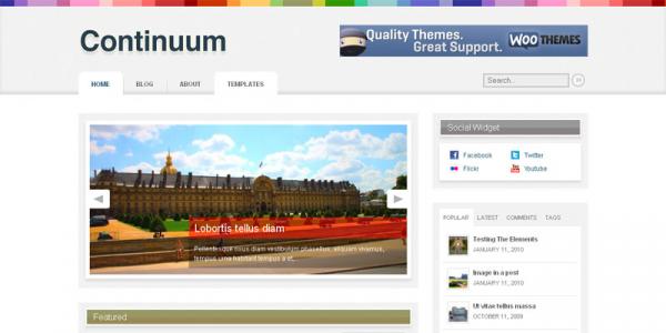 Журнальная тема WordPress от WooThemes: Continuum