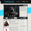 Тема для блога или журнала WordPress от Themeforest: Tarnished