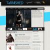 Тема для блога или журнала WordPress от Themeforest: Tarnished
