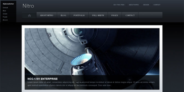 Универсальный шаблон WordPress от Themeforest: Nitro