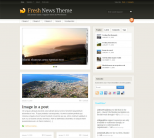 Новостная тема WordPress от WooThemes: Fresh News