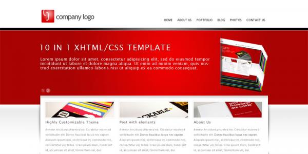 Бизнес тема для WordPress от ThemeForest: RT-Theme 5 (10 в 1)