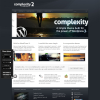Бизнес портфолио шаблон WordPress от ThemeForest: Complexity