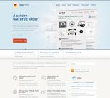 Премиум тема WordPress бизнес тематики от WooThemes: Biznizz