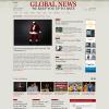 Шаблон WordPress новостной тематики от InstantShift: Global News