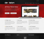 Премиум тема WordPress от ThemeShift: deVision