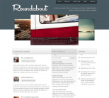 Бизнес шаблон WordPress от Press75: Roundabout
