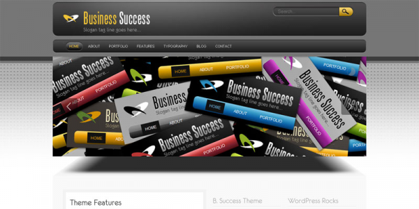 Премиум тема WordPress от Themeforest: Business Success