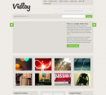 Премиум шаблон WordPress от Press75: Vidley