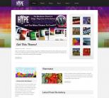 Hype — шаблон для журнала на WordPress от Themeforest