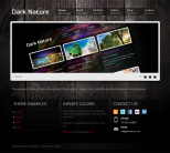 Премиум тема WordPress от ThemeForest: Dark Nature