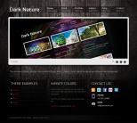 Премиум тема WordPress от ThemeForest: Dark Nature