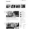 Черно-белый премиум шаблон WordPress от Themify: ThemeMin