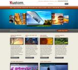Шаблон бизнес сайта WordPress от ThemeForest: Kustom
