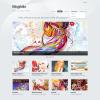 Тема для портфолио на WordPress от Themify: Blogfolio