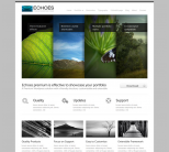 Premium WordPress тема от ThemeForest: Echoes