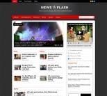 Новостная тема WordPress от Templatic: News Flash