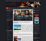 Темная тема WordPress для сайтов о кино от NewWpThemes: iMovies