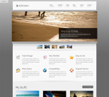 Портфолио шаблон WordPress от ThemeForest: deShadow