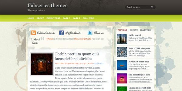 Премиум шаблон Wordpess от Fab Themes: Balena