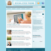 Премиум женская тема WordPress от StudioPress: SocialEyes