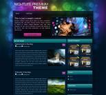 Клубный премиум шаблон WordPress от Wobzy: Nightlife
