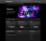 Тема WordPress от PageLines из 7 цветовых расцветок: StationPro
