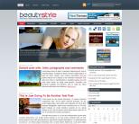 Женская новостная тема WordPress от NewWpThemes: BeautyStyle