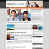 Бизнес новостной шаблон WordPress от NewWpThemes: BusinessCorp