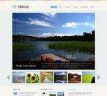 Фото шаблон WordPress от WooThemes: Statua