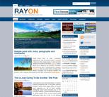Новостной шаблон WordPress от NewWpThemes: Rayon