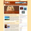 Новостной шаблон WordPress от NewWpThemes: Frankle