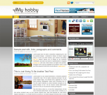 Светлый новостной шаблон для WordPress от NewWpThemes: MyHobby