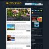 Цветочный шаблон для WordPress от NewWpThemes: Defne