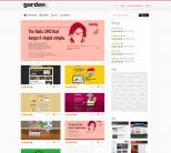 Премиум тема WordPress от ThemeJunkie: Garden