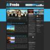 Новостной шаблон WordPress от NewWpThemes: Alfredo