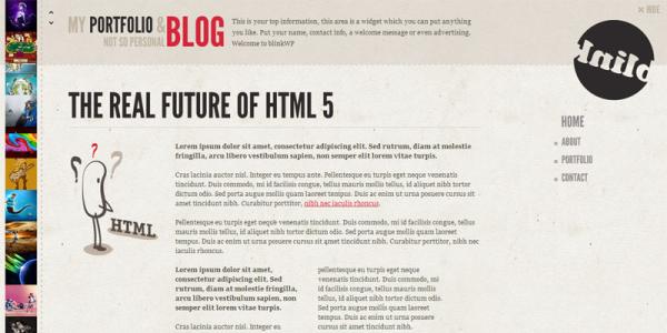 Премиум тема WordPress от ThemeForest: Blink