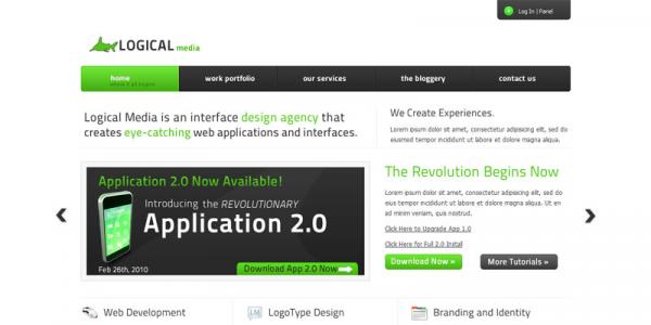 Премиум тема для WordPress от Themeforest: Logical WP Edition