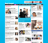 Новостная премиум тема WordPress от DeluxeThemes: Red Carpet