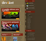 WordPress шаблон блога WP от ElegantThemes: Deviant