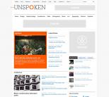 Новостной шаблон для wordpress от WpShower: Unspoken